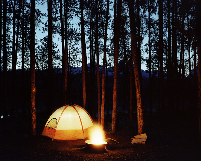 , 'Little Redfish Campground, Custer County, Idaho, 2003 1/5,' , Gail Severn Gallery