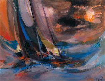 Yachtman Au Ciel d' Orage