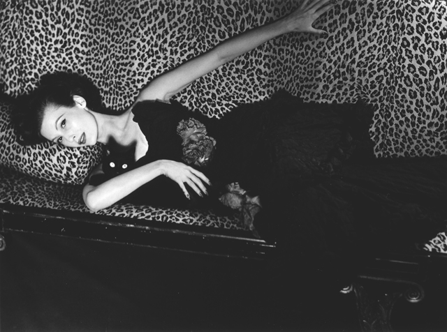 Louise Dahl-Wolfe, 'Mary Jane Russell on Leopard Sofa, Paris', 1951, Staley-Wise Gallery