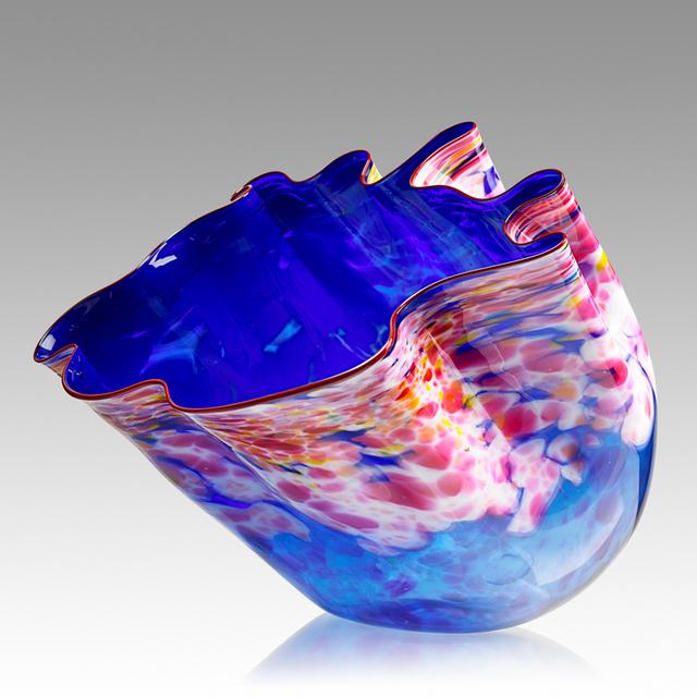 Dale Chihuly, 'Large blue and pink Macchia, Seattle, WA', 1984, Design/Decorative Art, Blown glass, Rago/Wright