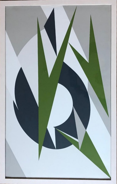 Lee Krasner, ' Embrace (for Montreal Olympics)', 1974, Alpha 137 Gallery