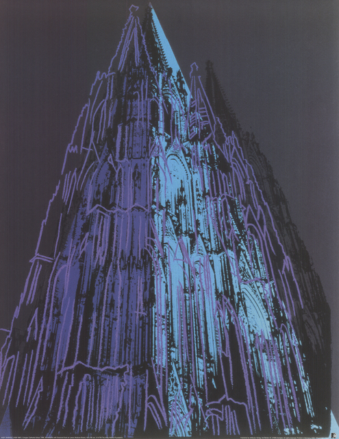 Andy Warhol, 'Koln Cathedral Blue', (Date unknown), ArtWise