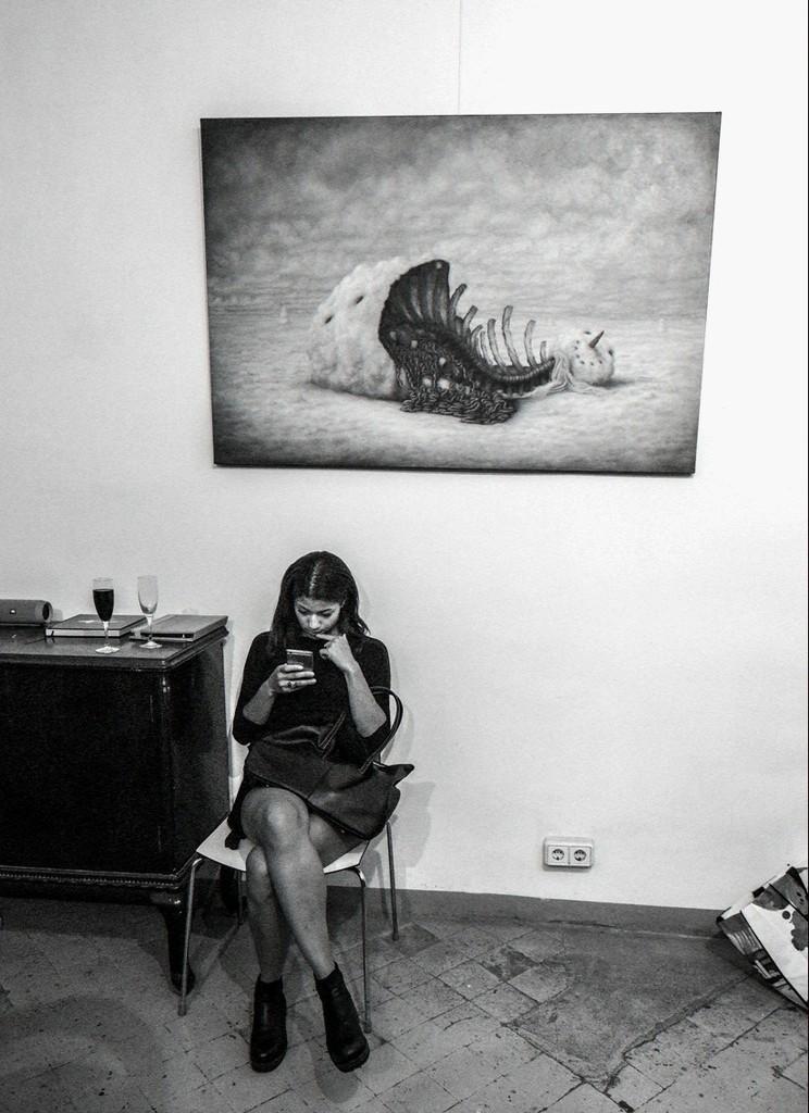 """Querelles Intestines"" by Bruno Pontiroli"