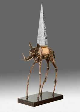 , 'Space Elephant ,' ca. 1980, Hazelton Fine Art Galleries