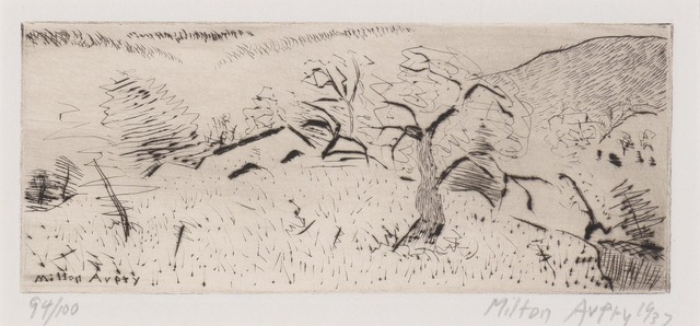 Milton Avery, 'Japanese Landscape (Lunn 15)', 1939, Doyle