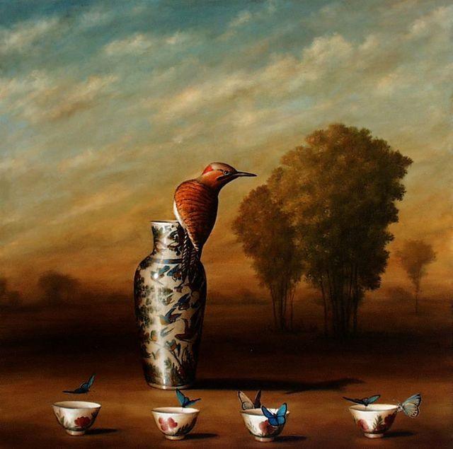 , 'Vase and Four Cups,' , Lisa Sette Gallery