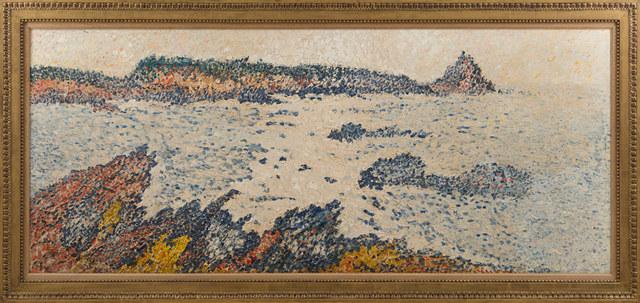 François Victor Valtat, 'Paysage de bord de mer aux rochers bleus', ca. 19, Rosenberg & Co.