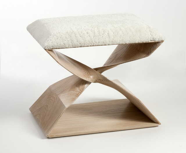 , 'Sculptural Hand Carved Stool,' 2013, Maison Gerard