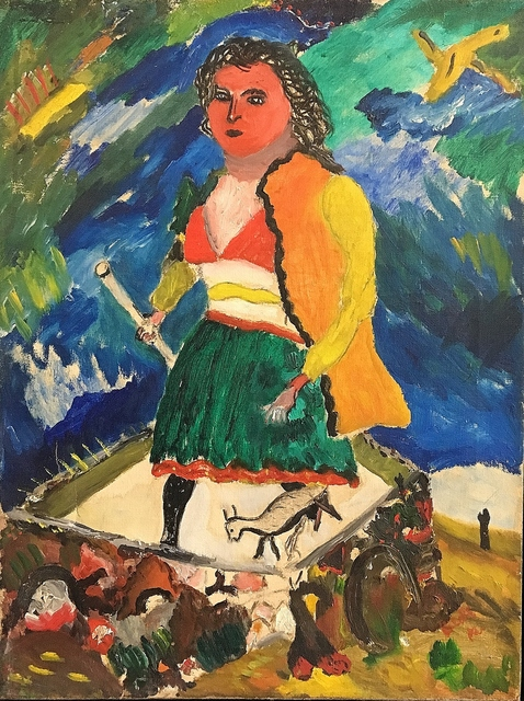 , 'Woman with Stick,' 1946, Lawrence Fine Art