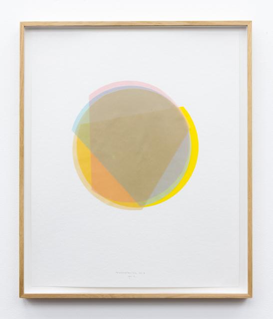 , '3/4 Kreisexzenter 10,' 2013, Galerie Gisela Clement