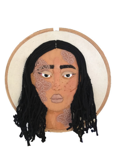 Sarah Naqvi, 'Untitled', 2017, Textile Arts, Embroidery on hoop, Akinci