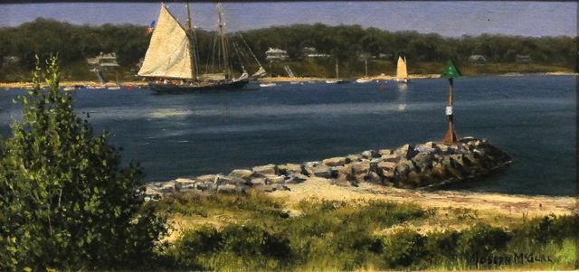 Joseph McGurl, 'The Boston Harbor Islands Project, The Outer Harbor: Vineyard Haven', 2018, The Guild of Boston Artists