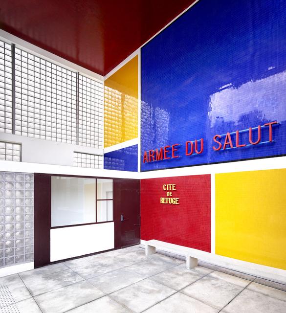 Candida Höfer, 'Cité Refuge de l'Armée du Salut (Le Corbusier) III Paris 2018', 2018, VNH Gallery