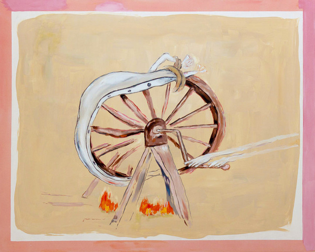 , 'Breaking Wheel,' 2014, Anna Zorina Gallery