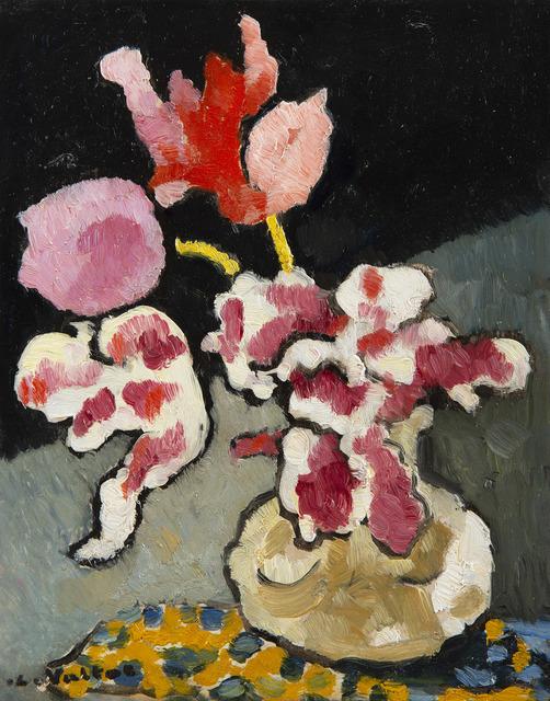 Louis Valtat, 'Vase de fleurs sur une table', Unknown, HELENE BAILLY GALLERY