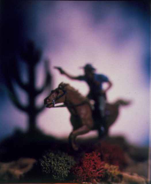 David Levinthal, 'The Wild West, 88-PC-C-7', 1988, Julie Nester Gallery
