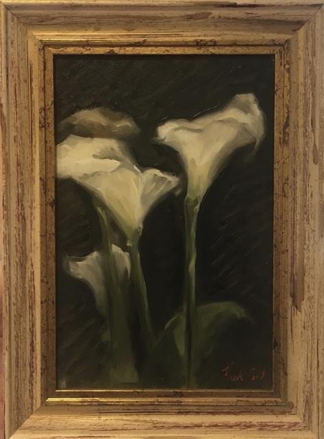 , 'Lillies,' 2017, Robert Eagle Fine Art