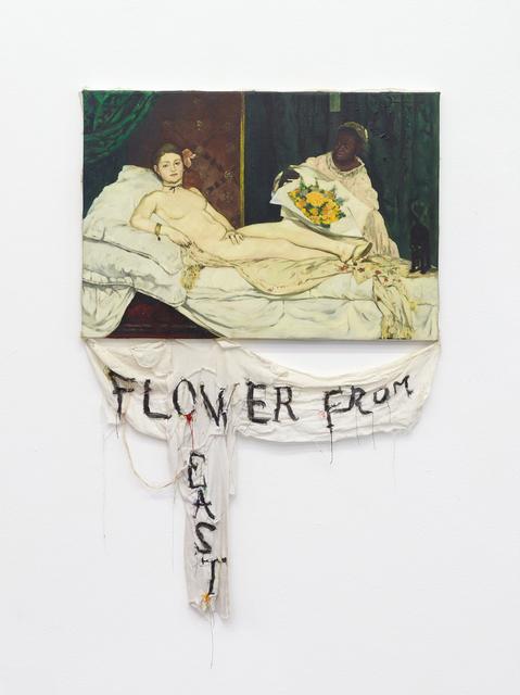, 'Episteme Sabotage – Flower from the East,' 2014, Philipp von Rosen Galerie