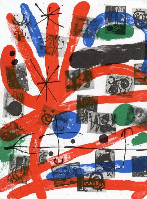 Joan Miró, 'Finis, Derrière le Miroir 151-152, Back Cover ', 1965, World of WonderMei