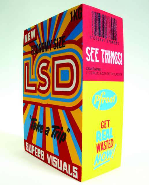 , 'LSD,' 2017, StolenSpace Gallery
