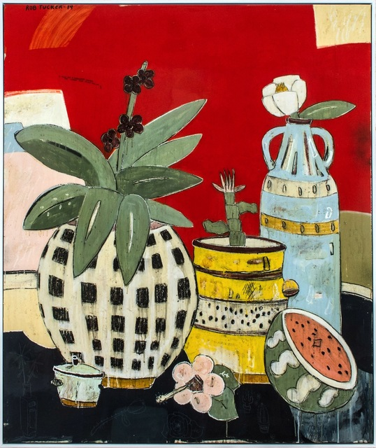 , 'A study for a strawberry smoothie and custard slice styled still life,' 2014, Rebecca Hossack Art Gallery