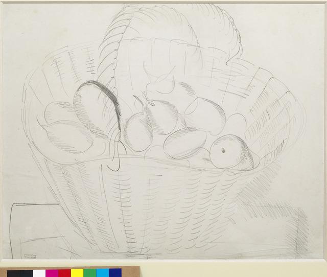 , 'Nature morte au panier de poires,' ca. 1914, Opera Gallery