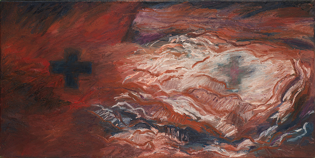 Kay WalkingStick, 'Eternal Chaos / Eternal Calm', 1993, Painting, Acrylic on canvas, American Federation of Arts