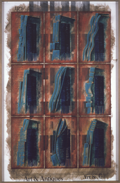 , 'One size fits all / 4: From J.L Durand to Manhattan Skyscraper Culture,' 2002, Art Mûr