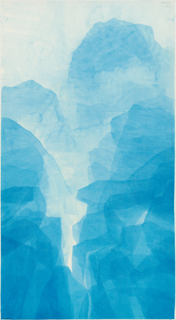 , 'Windsor Blue - West Lake,' 2016, Galerie du Monde
