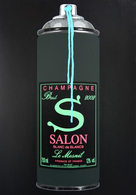 Campbell La Pun, 'Salon Neon 2002', 2021, Painting, Aerosol on panel, DTR Modern Galleries