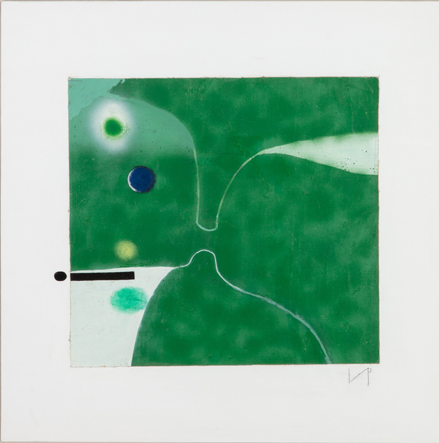 , 'Point of Contact: Green Image,' 1982, Marlborough London