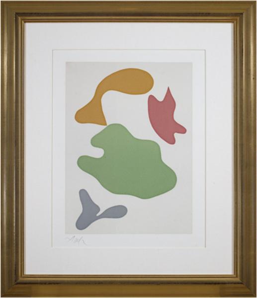 Hans Arp, 'Constellation (full margins on BFK reeves paper)', 1965, David Barnett Gallery