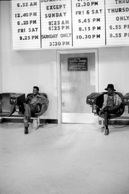 , 'Bus Station, St Louis,' 1969, Alex Daniels - Reflex Amsterdam