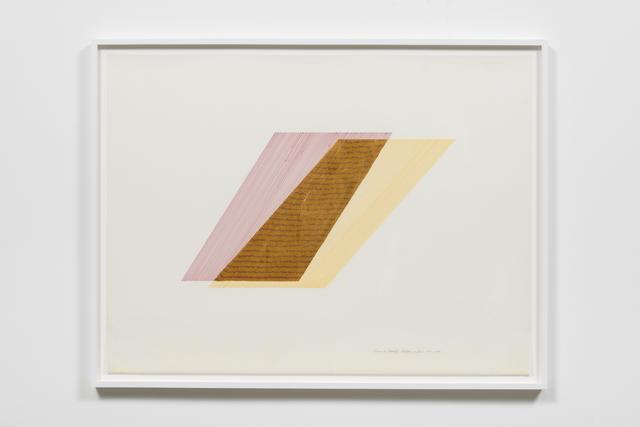 , 'Rhythm of Lines 7-5,' 1988, Ghebaly Gallery