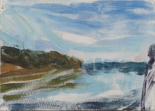 , 'Lake After Sunset at Yuyuantan,' 1976, Boers-Li Gallery