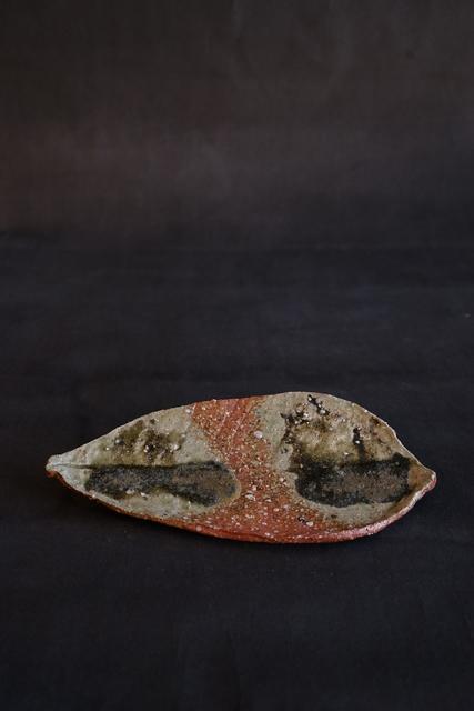 Shiro Tsujimura, 'Leaf Plate (Iga-Style)', 2019, Kami ya Co., Ltd.