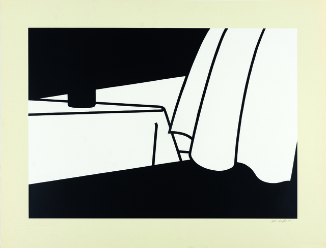 , 'Curtain and Bottle,' 1973, Sims Reed Gallery