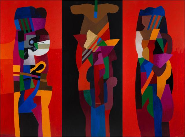 , 'Three Obelisks,' 2016-2017, Meem Gallery
