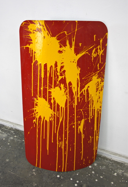 , 'Action Riot Painting China,' 2017, Ethan Cohen New York