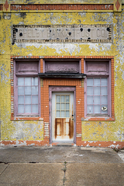 , 'Late Harvest: Shelby Bank and Trust, Shelby Mississippi,' 2016-printed 2018, Thomas Deans Fine Art