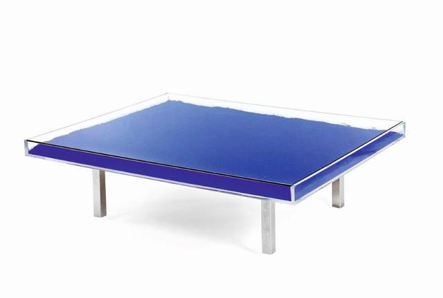 Yves Klein, 'Table bleue', 1963-2019, Ground Effect Gallery