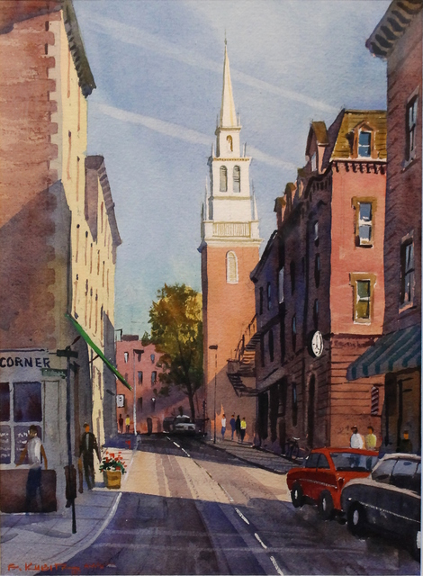 Frederick Kubitz, 'Old North Church, North End, Boston', 2015, The Guild of Boston Artists