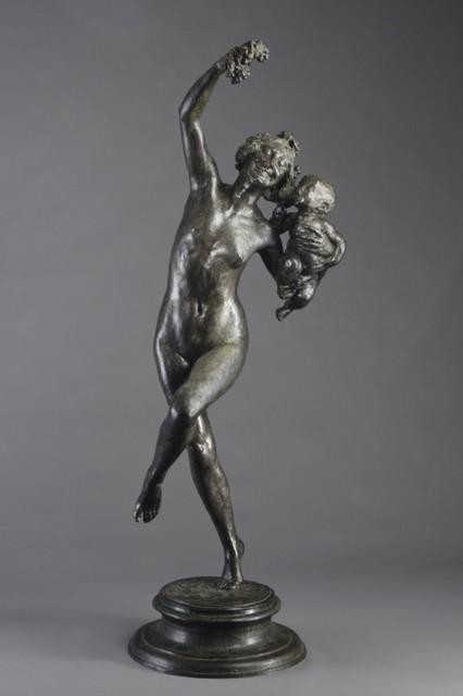 Frederick William MacMonnies, 'Bacchante and Infant Faun', 1893–1894, The Metropolitan Museum of Art