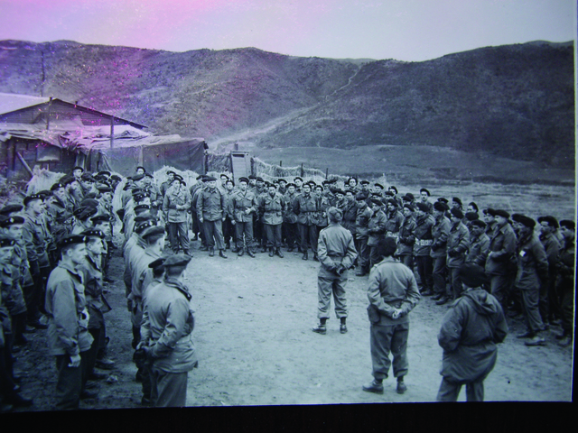 , 'Meeting after landing 2, Korean War 1950,' 2008, CHOI&LAGER
