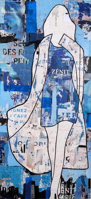 , 'Blue Girl Walking ,' 2017, Lanoue Gallery