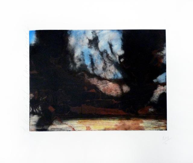 Donald Sultan, 'The Shelling of Dubrovnik 1994, August 2004', 2004, Derriere L'Etoile Studios