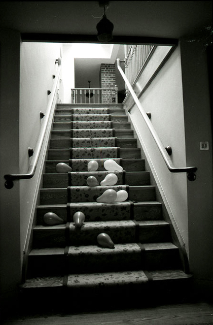 Linda McCartney, 'Balloon Stairs', 1984, James Hyman Gallery