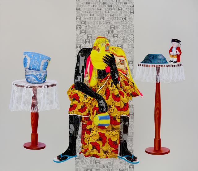 Eddy Kamuanga Ilunga, 'Fragile 1', 2018, October Gallery