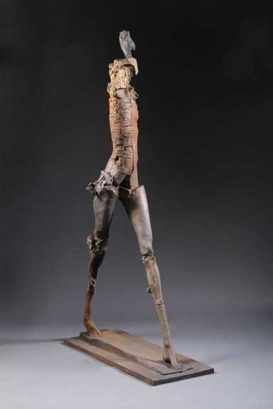 , 'Deep Striding Woman,' 2010, Dolby Chadwick Gallery