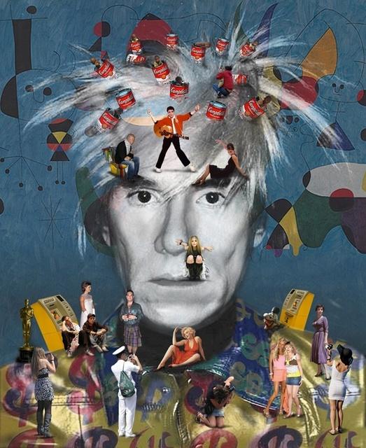 , 'Self-Portrait, Warhol,' 2011, Cynthia Corbett Gallery